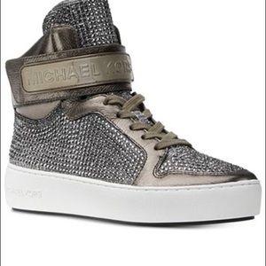 micheal Kors trent high top sneakers